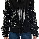 Saint Laurent Jacket With Ghatered Sleeves