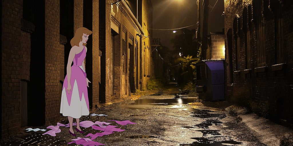 Disney Characters Unhappily Ever After
