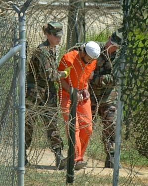 Rice Denies Rights Abuses at Guantanamo Bay