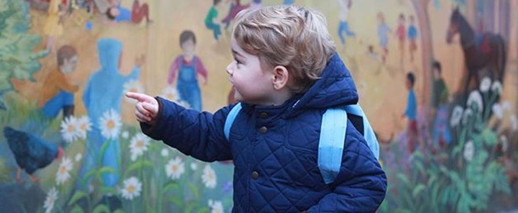 الأمير جورج يبدأ ارتياد حضانة مونتيسوري