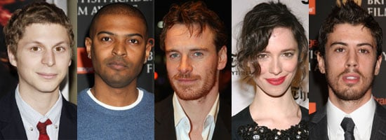 Photos of Michael Cera, Noel Clarke, Michael Fassbender, Rebecca Hall, Tony Kebbell Are Nominated For Orange Rising Star Award