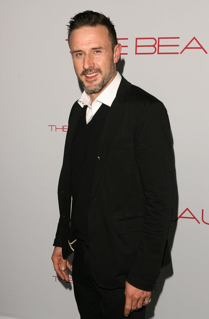 David Arquette came out to support a charitable cause.