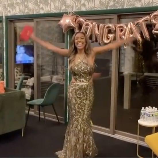 Zac Surprises Tayshia With a Bachelorette Premiere Party