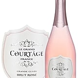 In the mood for something bubbly? The fresh and fruity sparkling wine rosé from Le Grand Courtage ($25) will tickle your fancy (and your nose).