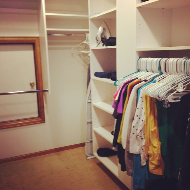 A well-tidied closet will soon be able to store other belongings besides clothes.