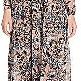For Love & Lemons Gracie Printed Maxi Dress ($251)