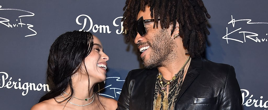 Lenny Kravitz Quotes About Zoë Kravitz's Wedding
