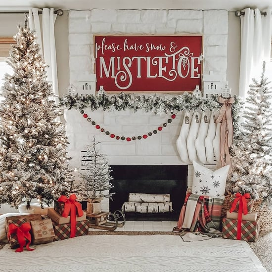 Fireplace Christmas Decor Ideas