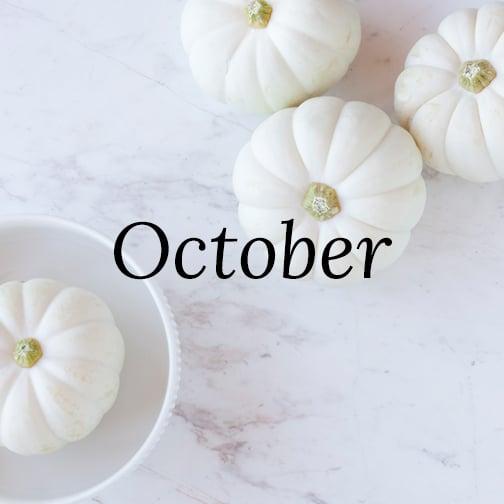October POPSUGAR Must Have Box Inspiration