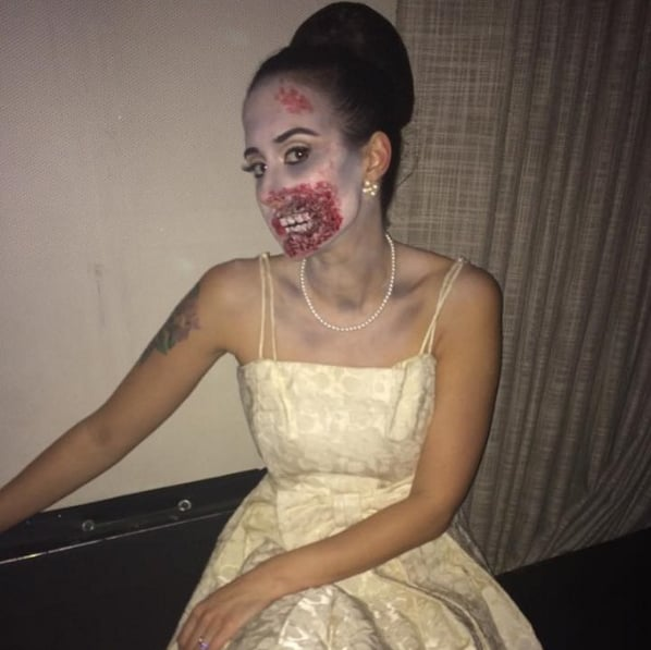 DIY Halloween Costumes Using a White Dress