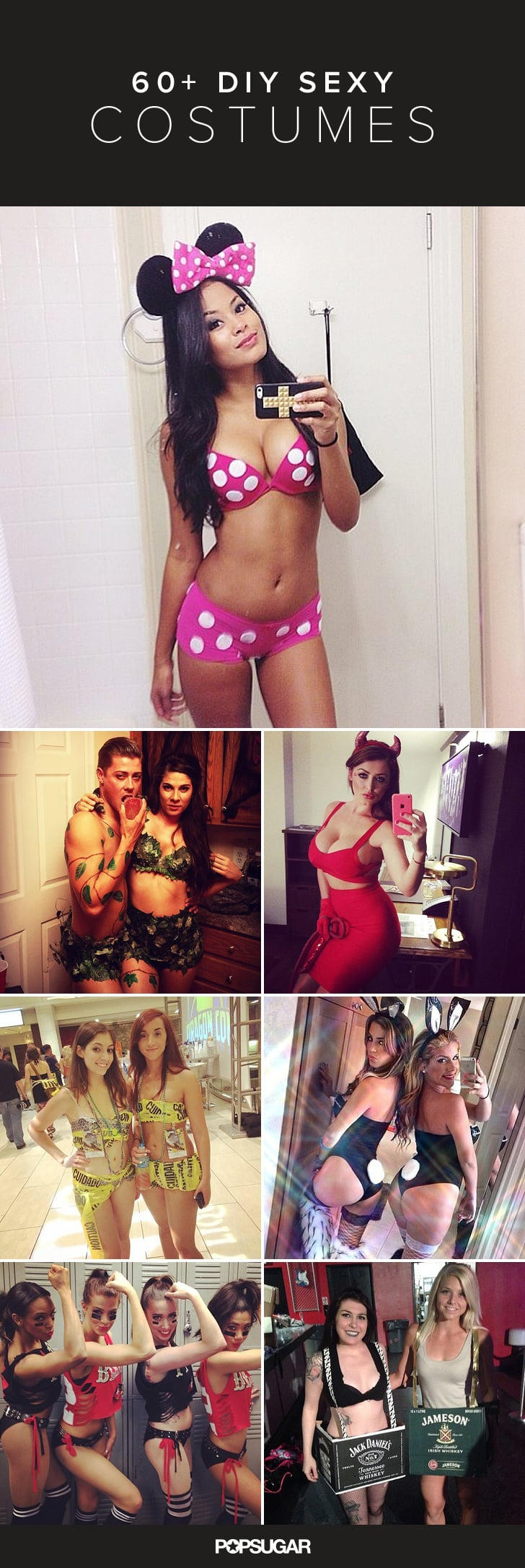 63 Insanely Cheap DIY Sexy Halloween Costumes