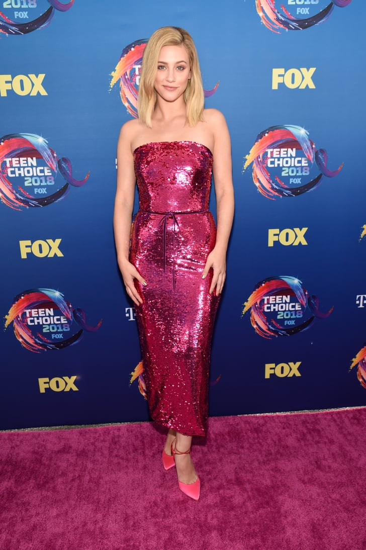 Teen Choice Awards Red Carpet Dresses 2018