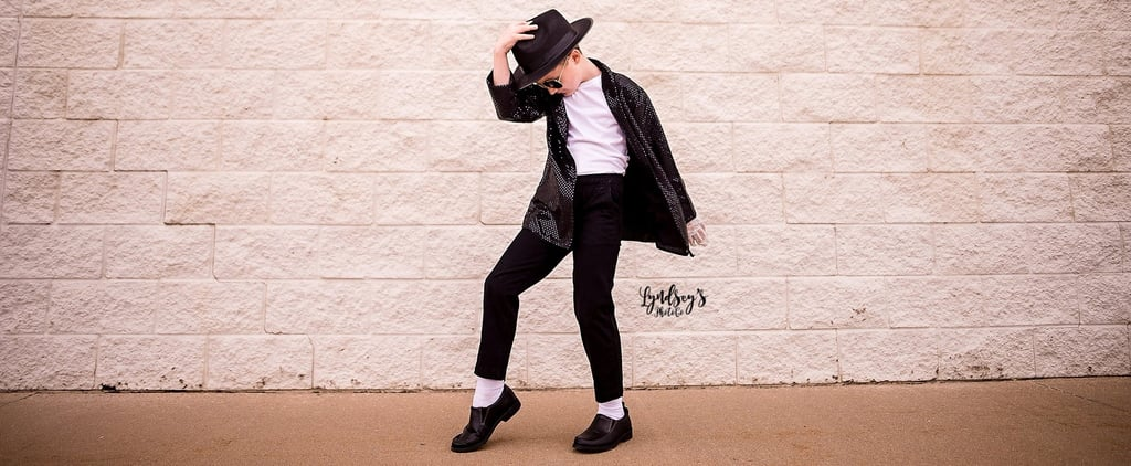 Kid's Michael Jackson Photo Shoot