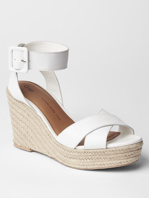 Gap Leather Espadrille