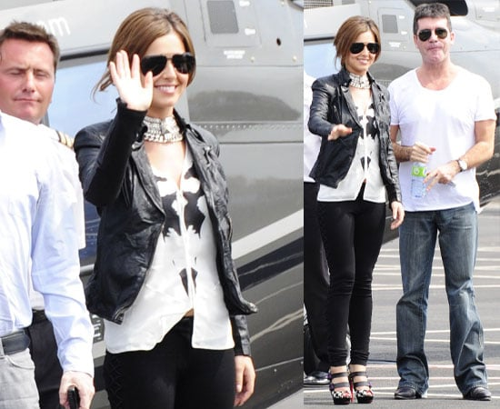 Pictures of Cheryl Cole, Simon Cowell, Louis Walsh at London X Factor Auditions 2010, Simon Called Her Cheryl Tweedy