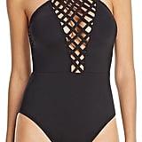 Kenneth Cole Lattice Swimsuit