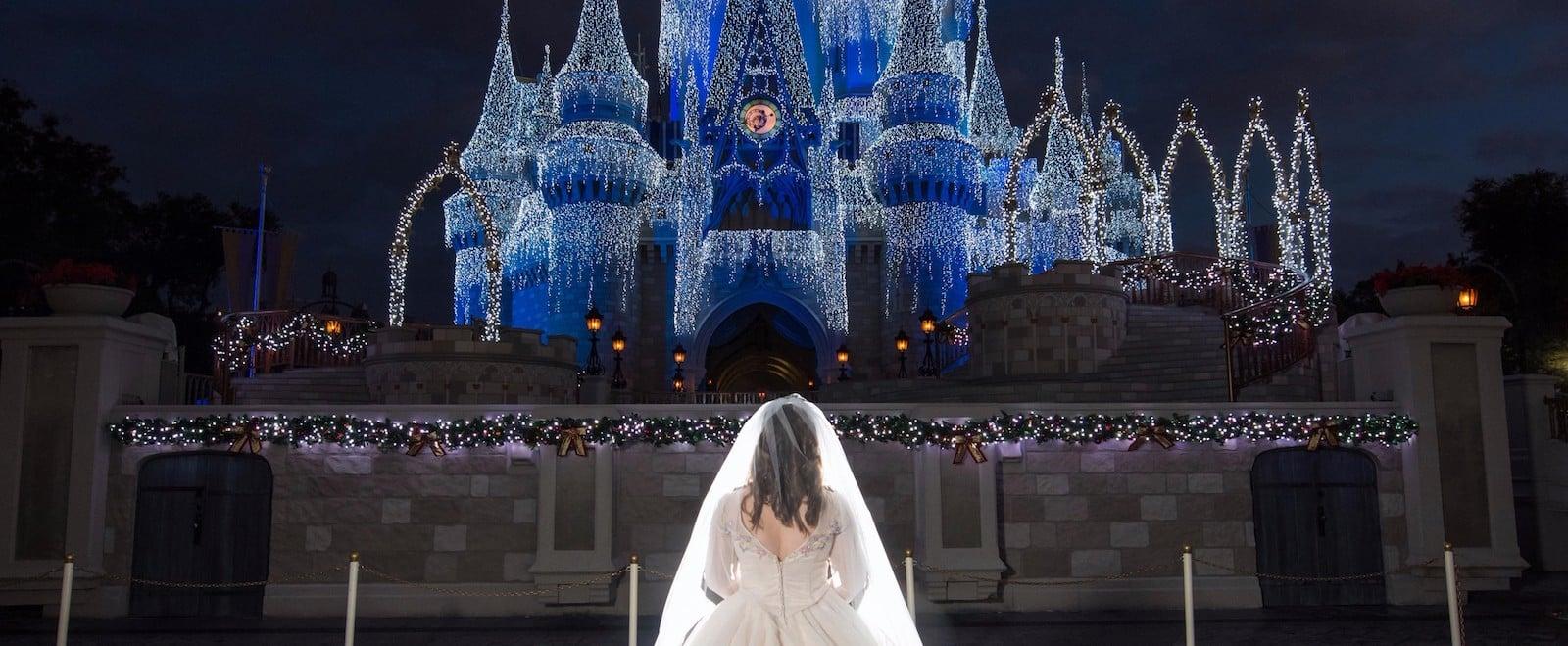 Disney Fairy Tale Wedding Shoot at Magic Kingdom