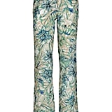 """""""I discovered this Spanish brand on a shoot for Marie Claire and have never looked back. These floral printed trousers could be dressed up and down. Just looking at the print now gets me in the mood for sunshine and cocktails . . ."""" — Poppy Delevingne  Masscob Printed Trouser ($440)"""