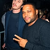 Garrett Hedlund posed with Anthony Anderson.