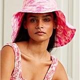 Faithfull the Brand Frederikke Tie-Dyed Linen Sunhat