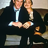 Madonna and Sean Penn got married in 1985 but were divorced by 1989. The duo starred in Shanghai Surprise together, and Madonna dedicated her third album, True Blue, to Sean.