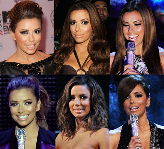 Eva Longoria Hair at the MTV EMAs