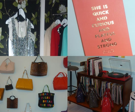 Photos of Kate Spade Pop Up Shop in London's Covent Garden
