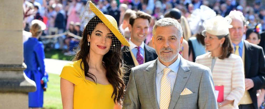 Amal Clooney Dress at Royal Wedding 2018