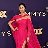 Catherine Zeta-Jones at the 2019 Emmys