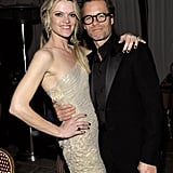 Missi Pyle and Guy Pearce hung out at the Chateau Marmont after the 2012 Screen Actors Guild Awards.