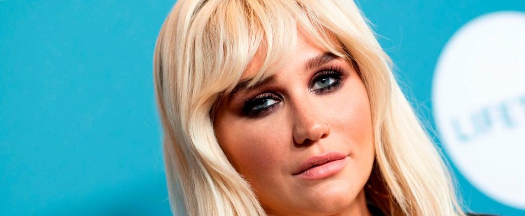 Kesha Shows Her Freckles on Instagram