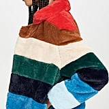 BlankNYC Rainbow Pop Coat
