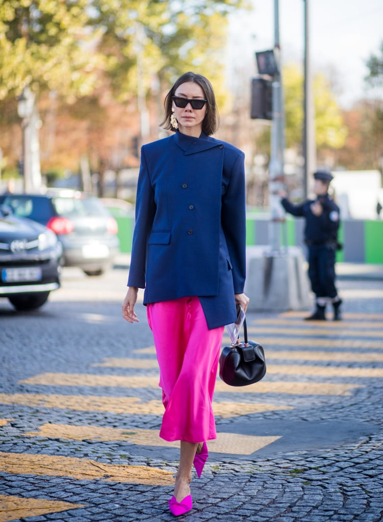 Navy and Fuchsia