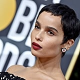 Zoë Kravitz at the 2020 Golden Globes