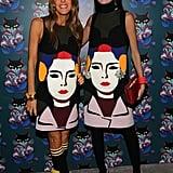 Anna Della Russo and Giovanna Battaglia in Prada