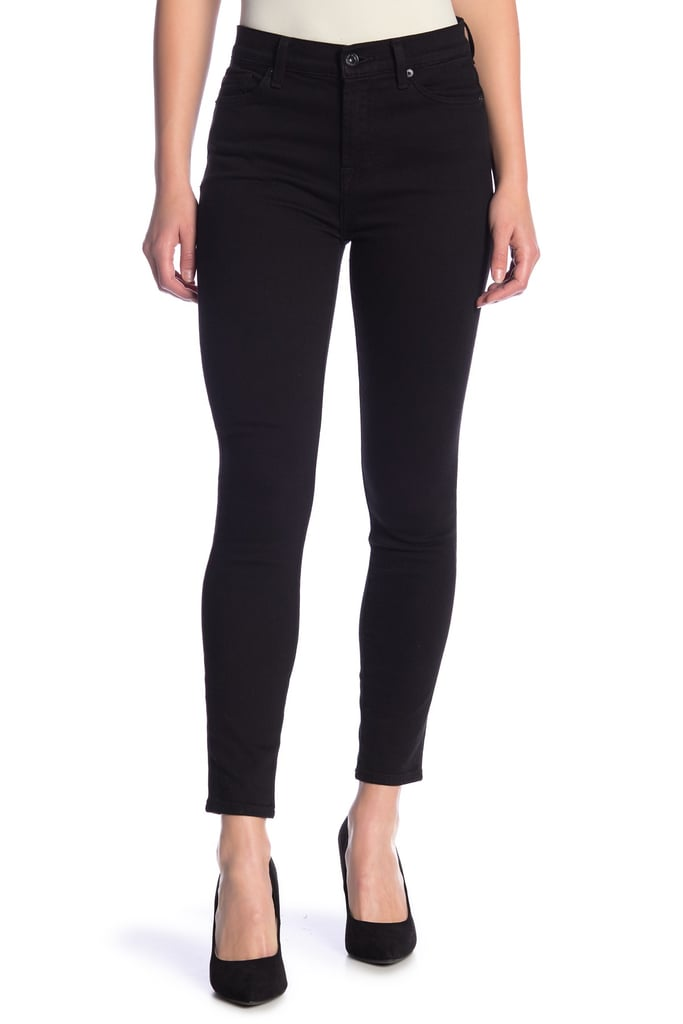 7 For All Mankind Gwenevere High Waist Skinny Jeans