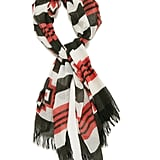 The tiger print scarf was a huge hit last season and I'm sure this Aztec version (£55) will follow suit.