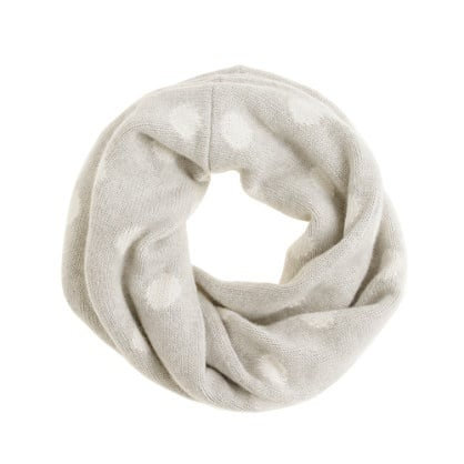 This polka-dot snood ($68) is a combination of three of my favorite things: polka dots, the color gray, and infinity scarves. — Tara Block, assistant editor