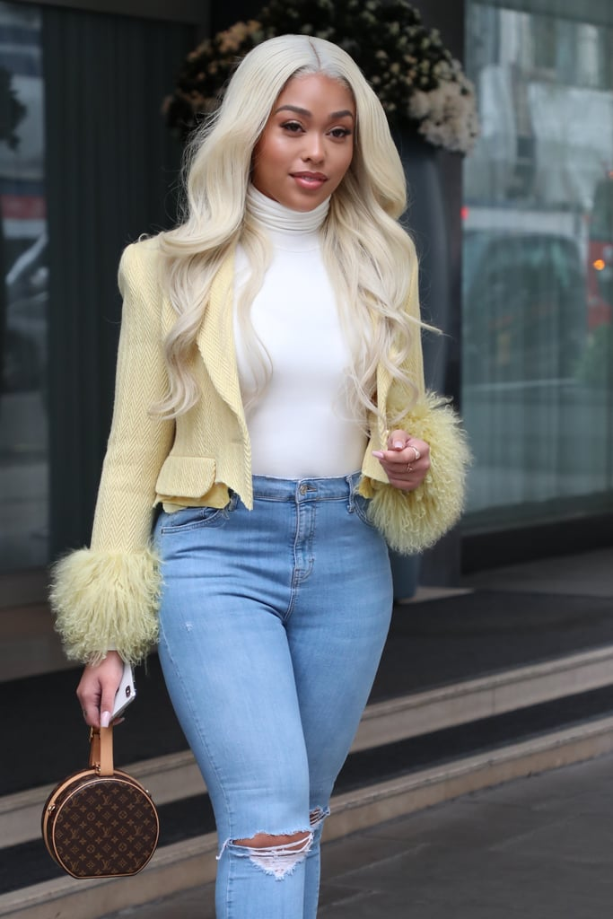Jordyn Woods has been everywhere lately from her Red Table Talk with Jada Pinkett Smith that streamed on Facebook, to promoting her false lashes line with Eylure. But the social media star and former friend of the Kardahsians just made yet another move we didn't see coming: going platinum.  Woods debuted a waist-long blond hairstyle this week that she's already worn both sleek and straight and with loose waves. The light colour might just be a wig, but it looks so good that she might commit to a long-term relationship with the style and dye her natural hair as well. Check out the images ahead of how Woods has been wearing her new look.