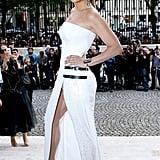 At Paris Fashion Week in July 2014