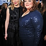 Kirsten Dunst and Melissa McCarthy palled around at the Critics' Choice Movie Awards.