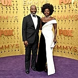Julius Tennon and Viola Davis at the 2019 Emmys