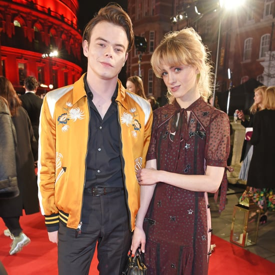 Natalia Dyer Quotes About Charlie Heaton January 2018