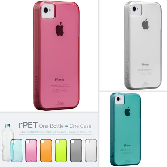 One Bottle Equals One Case: Recycled iPhone Cases by Case-Mate