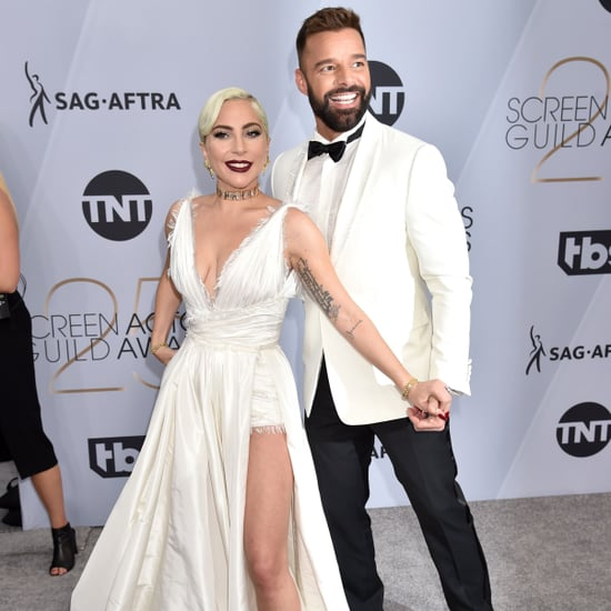 Lady Gaga and Ricky Martin at the 2019 SAG Awards