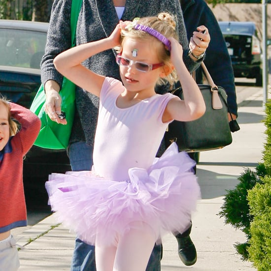 Jennifer Garner With Seraphina and Violet at Ballet Pictures