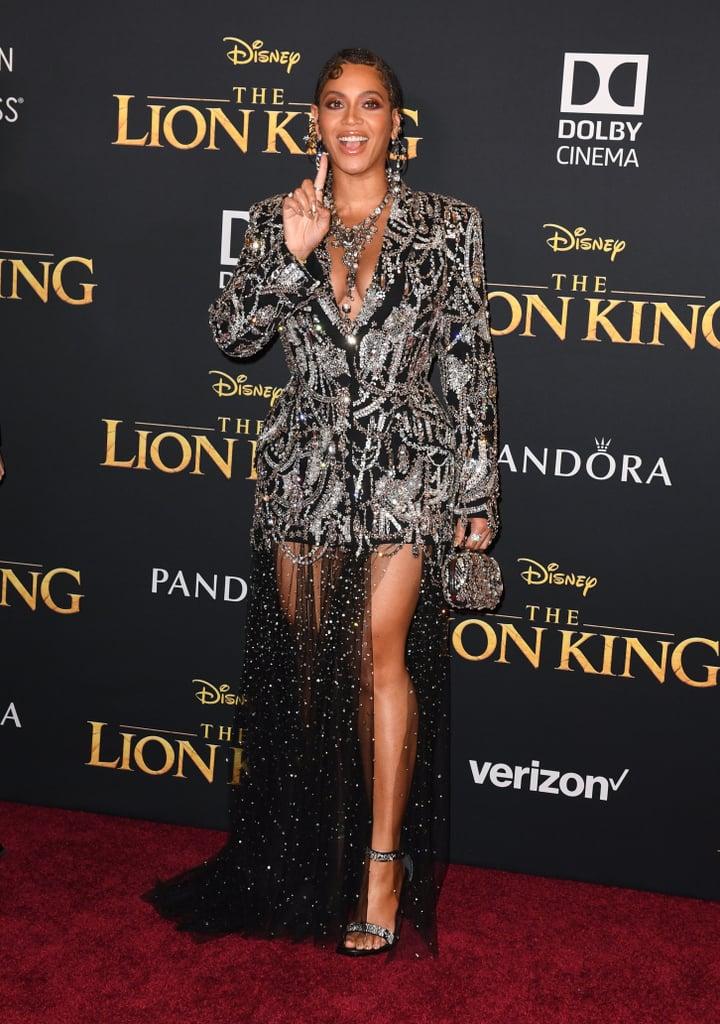 Beyoncé and Blue Ivy at Lion King Premiere LA 2019 Pictures