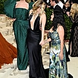 Pictured: Stella McCartney, Miley Cyrus and Salma Hayek