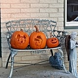 Cinderella and Mickey Mouse Pumpkins
