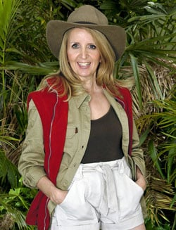 Pictures of Gillian McKeith Who Has Been Voted Out of I'm a Celebrity